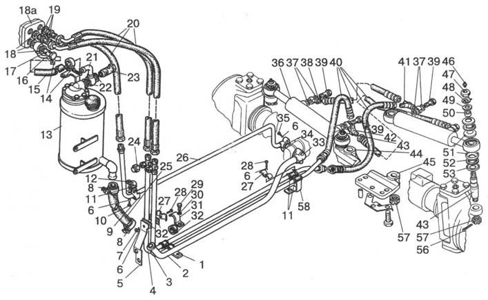 Управление рулевое гидрообъемное МТЗ-1523.