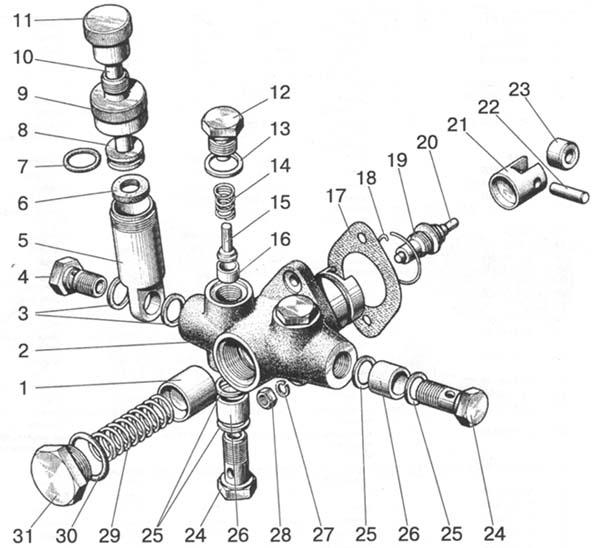 Подкачивающий насос МТЗ-80